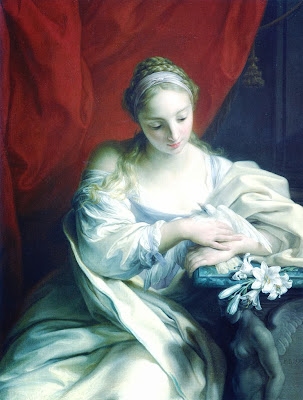 Pompeo Batoni - Purity of Heart - 1752