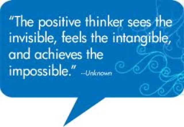 think positive essays