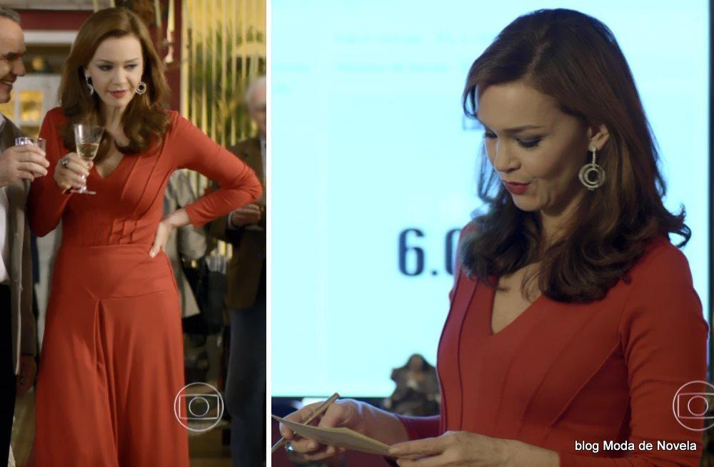 moda da novela Em Família - look da Helena dia 23 de junho
