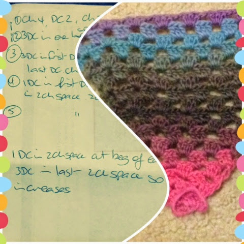 Jacqstar Creations, pattern, crochet, original, yarn, wool, granny