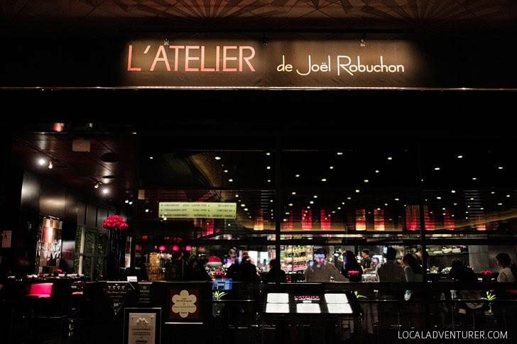 Atelier Joel Robuchon - MGM Restaurants.