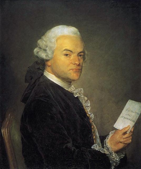 Jean-Baptiste Perronneau - Portrait of a Man