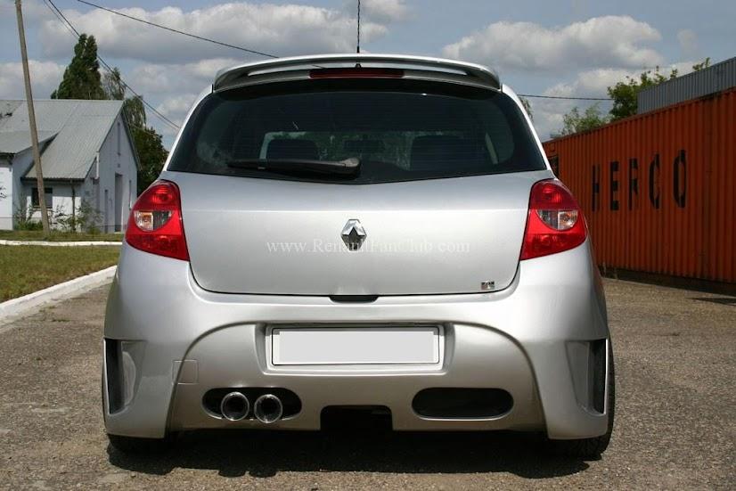 Bodykit Renault Clio 3 – transport