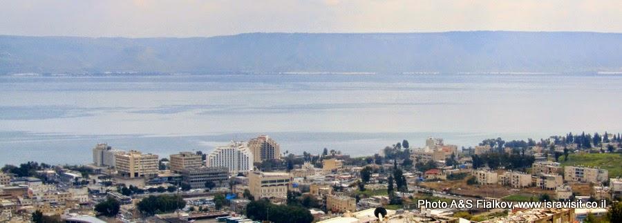 Тверия - город на западном берегу Тивериадского озера в Галилее. Экскурсия Галилея христианская. Гид по Галилее Светлана Фиалкова.