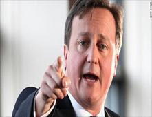 رئيس وزراء بريطانيا ينسي طفلته فى حانه