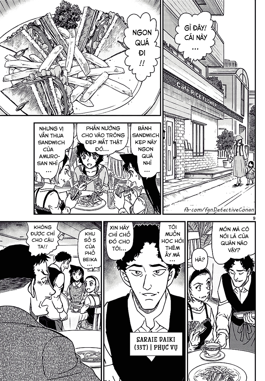 Thám Tử Lừng Danh Conan - Chapter 994 - Pic 9
