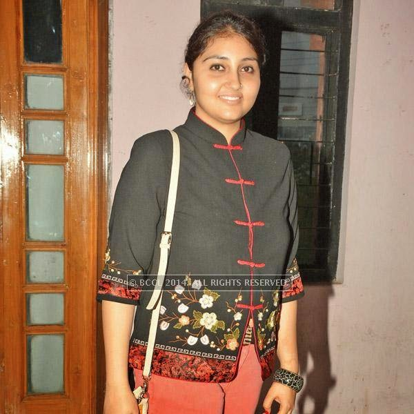 Nilisha Khanna during the Lucknow Theatre Festival which was organised in the city from July 17.