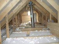 Утепление бетонного потолка