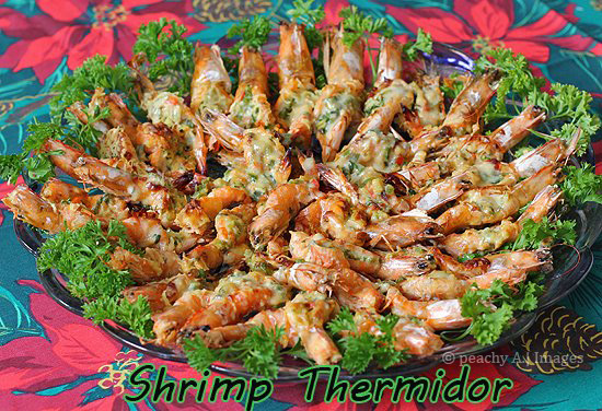 My Cousin's Shrimp Thermidor