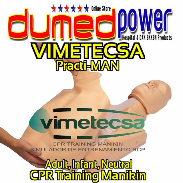 Vimetecsa-Practi-MAN-CPR-Training-Manikin-Adult-Infant-Neutral-Manual