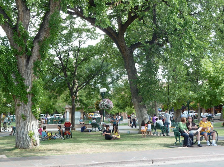 The Santa Fe Plaza