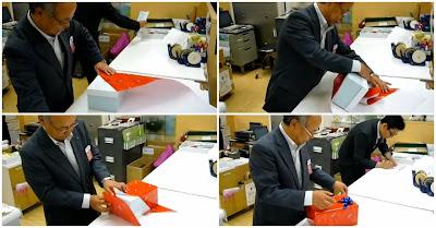 Como se embrulham presentes no Japão