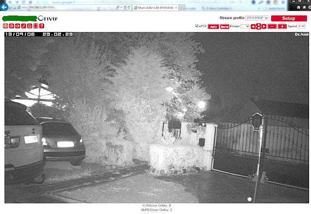 Caméra Pro de nuit