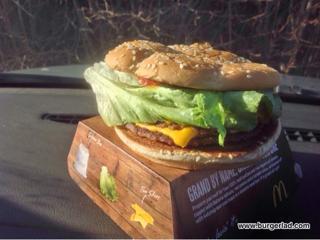 McDonald's The Grand Burger