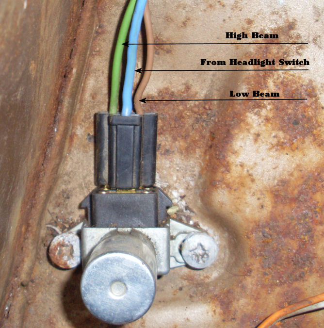 chevy dimmer switch wiring diagram chevy image low beam relay not functioning the 1947 present chevrolet on chevy dimmer switch wiring diagram