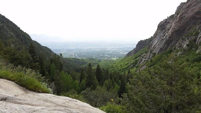 Bell canyon boulders trailhead, Sandy utah
