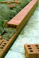 new garden wall