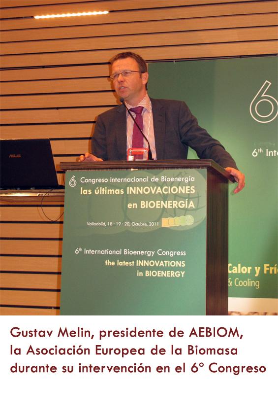 Melin en Congreso bioenergia