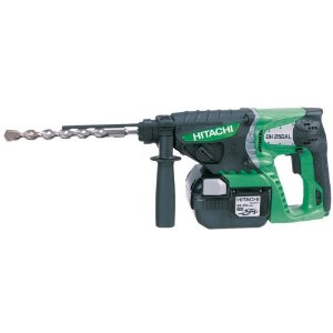 Buy Hitachi DH25DAL 25.2V SDS-Plus Rotary Hammer Drill 3 Mode 2 x 3.0Ah Lithium-Ion batteries