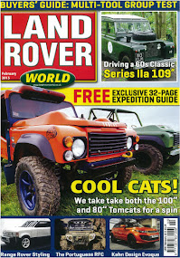 Challenger 4x4 on Land Rover World Magazine