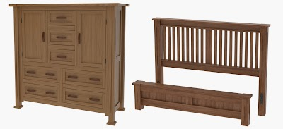 Handcrafted Bedroom Sets From Erik Organic