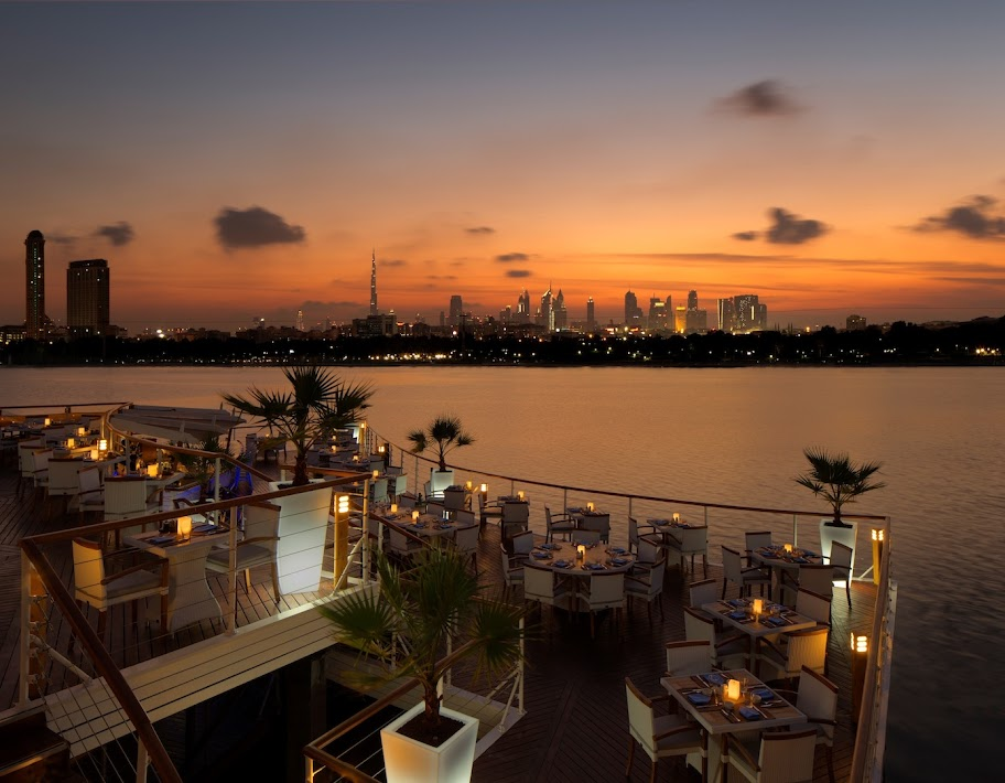 Boardwalk in Dubai Creek Golf & Yacht Club