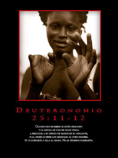 bondad divina. Deuteronomio