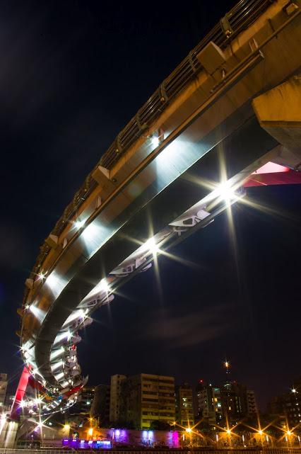 饒河街彩虹橋