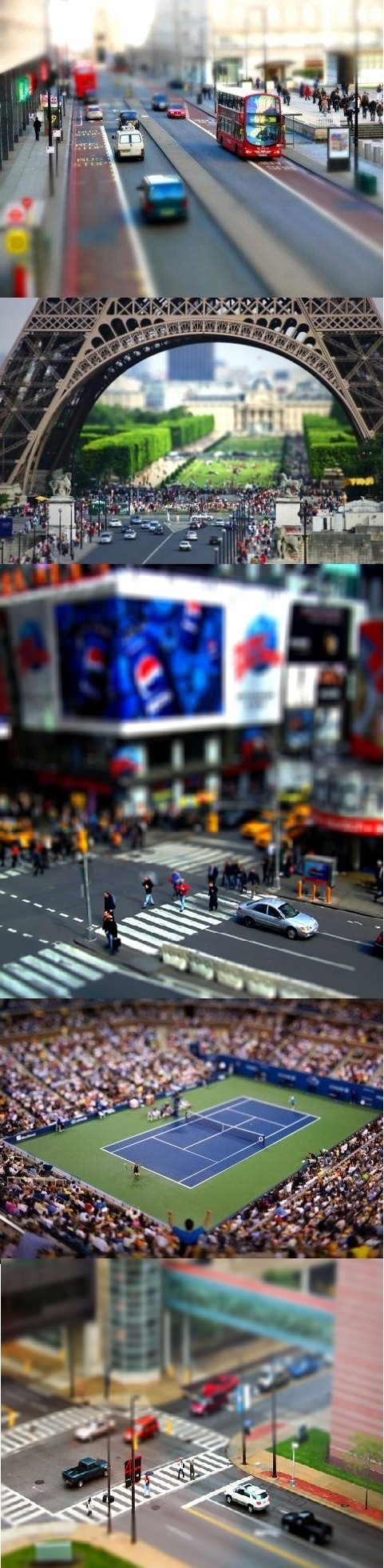 Miniature Effect Photography