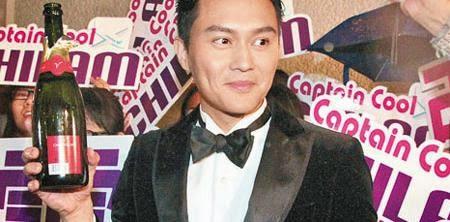 張智霖有份主演的《衝上雲霄》成為港產片在年初一的單日票房冠軍。