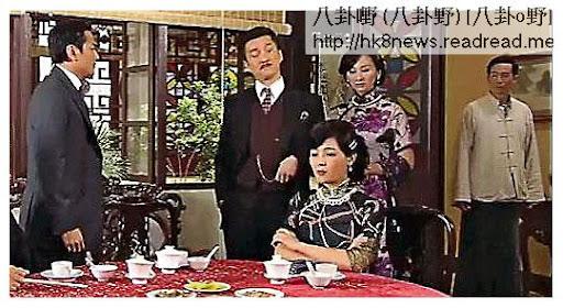 香港版《天梯》陳豪衣袋裏的「異物」經電腦處理掉。(電視圖片)