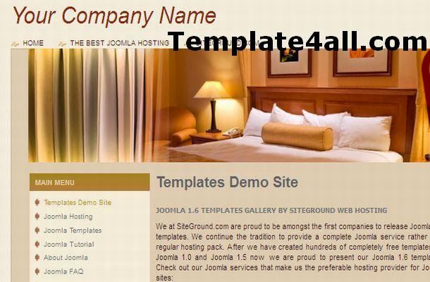 Hotel Travel Business Joomla Theme Template