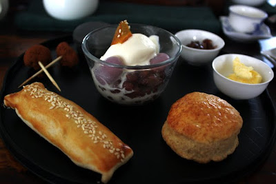 Pastries at Teanamu Teahouse in London