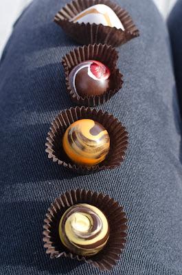 chocolates, sugar cube, designer, painted, truffles, Alexandria, VA