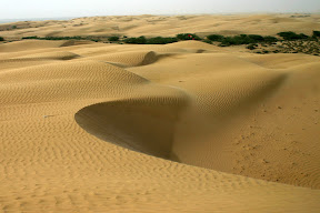 Desert in Baluchistan.