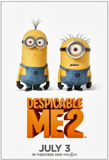 Εγώ, ο Απαισιότατος 2 Despicable Me 2 Poster
