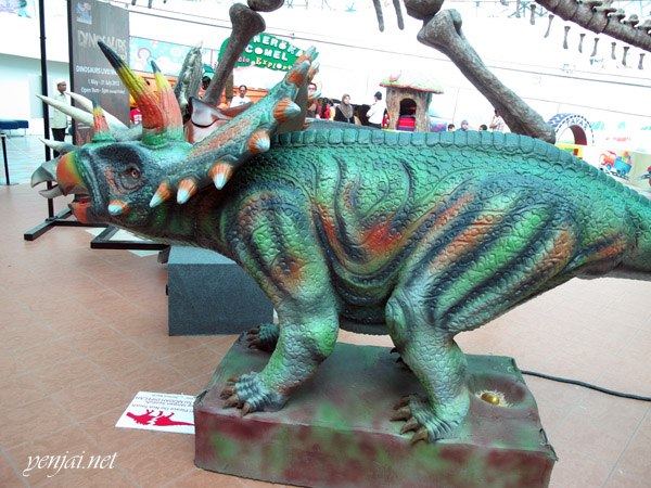 pusat sains negara national science centre dinosaur