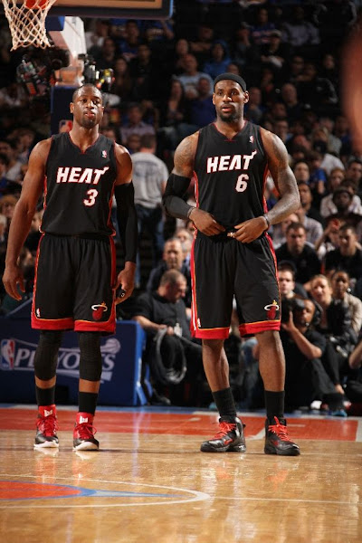 Heat Fail to Complete the Sweep LeBron with 4 Shoes in 4 Games