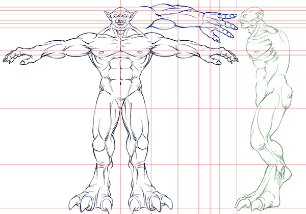 3d Character Model Sheet Model Sheets of 2 Characters