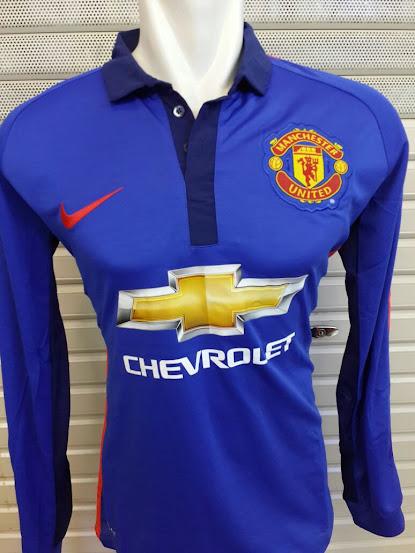Jual Jersey Manchester United 3rd Lengan Panjang 2014-2015