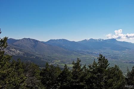 Vistas desde el cerro piñonero