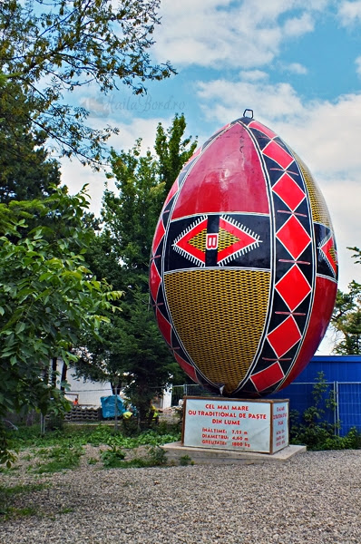 cel mai mare ou din lume suceava