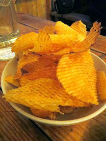 Brewstillery Festival preview of some of the snacks available such as Stormbreaker's house chips