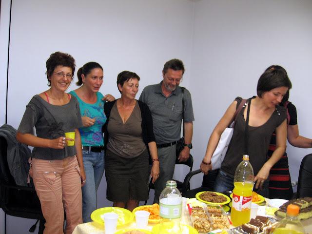 Ivica Smolec - blažen među pjesnikinjama u Webstilus klubu, Zagreb, 2009.