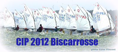 Coupe Internationnale de Printemps 2012 Biscarrosse CIP optimist opti Voile