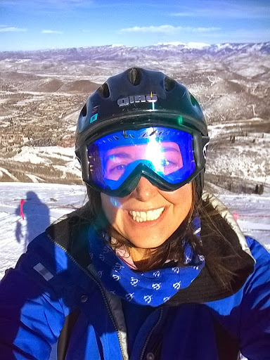 Lisa Niver enjoying Park City, Utah with her family in January 2015. My family has always loved to travel and taught me to enjoy trips both local and international. #StudyAbroadBecause Your Whole Life Will Change