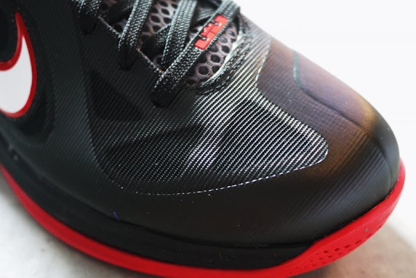 Upcoming Nike LeBron 9 Low 8211 Black  White  Red