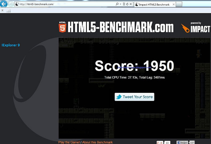 ie html5 benchmark