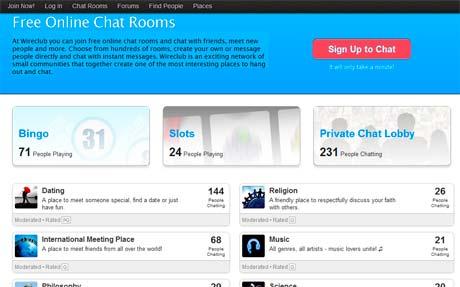 salas de chat online