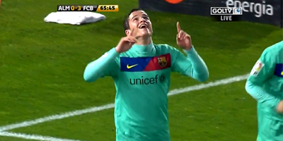 Copa Del Rey : Almeria 0 vs 3 Barcelona 02-02-2011